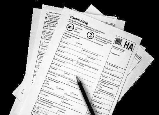 Antragsformular HA SGB II